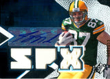 Jordy Nelson 2008 Upper Deck Event-Worn/Autographed Rookie Card #8/599