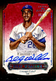 Billy Williams 2012 Topps Five Star Autographed Card #5/25