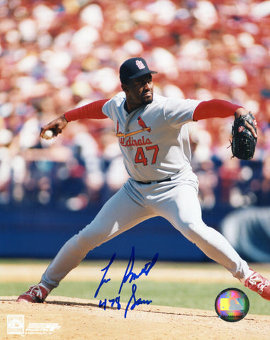 Lee Smith Autographed 8x10 Photo