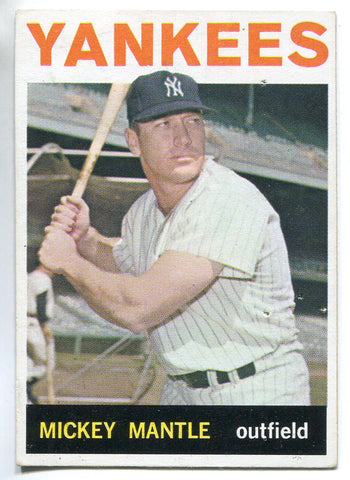 Mickey Mantle 1964 Topps Card #50