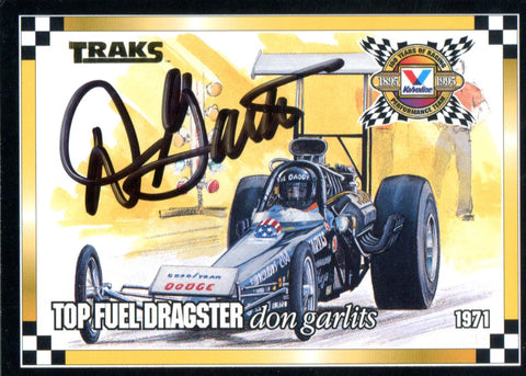 Don Garlits Autographed 1994 Card
