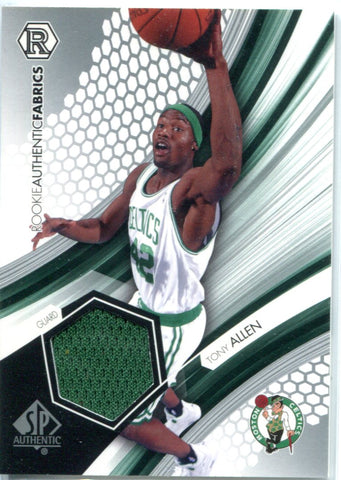Tony Allen 2005 Upper Deck SP Authentic Jersey Card