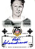 Red Schoendienst 2014 Panini Autographed Card