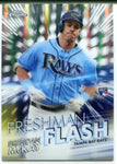 Brendan McKay 2020 Topps Chrome Freshman Flash Insert Rookie Card #FF-6