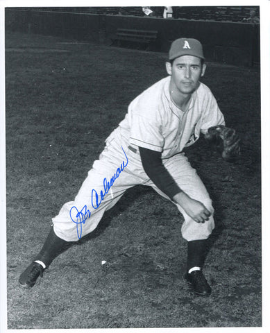 Joe Coleman Autographed 8x10 Black & White Baseball Photo