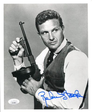 Robert Stack Autographed 8x10 Photo (JSA)