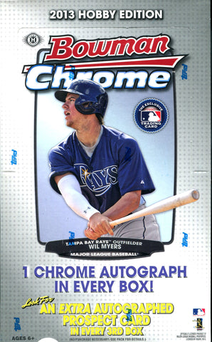 Bowman 2013 Chrome Hobby Box Wax