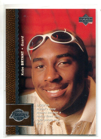 Kobe Bryant 1997 Upper Deck #58 Rookie Card