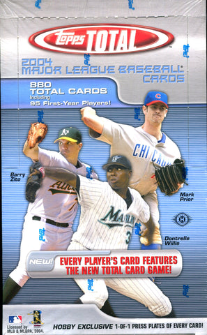Topps Total 2004 Hobby Box Wax