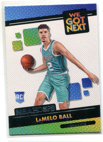 LaMelo Ball 2020-21 Panini NBA Hoops We Got Next Rookie Card #3