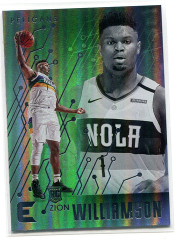 Zion Williamson 2019-20 Panini Chronicles Essentials #210 Card