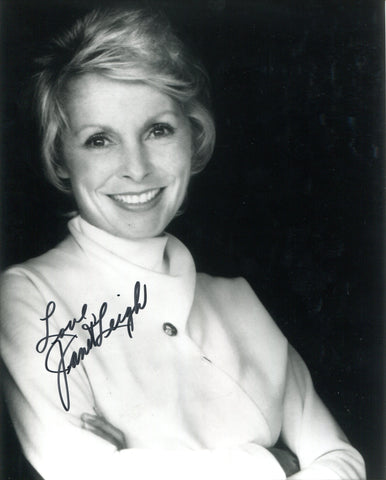 Janet Leigh Autographed 8x10 Photo