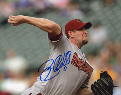 Brandon Webb Autographed 8x10 Photo