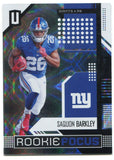Saquon Barkley 2018 Panini Unparalleled Rookie Card