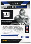 Saquon Barkley 2018 Panini Unparalleled Rookie Card Back