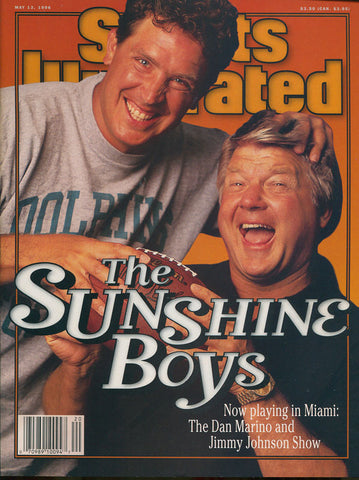 Dan Marino & Jimmy Johnson May 13 1996 Sports Illustrated