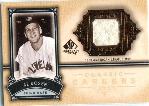 Al Rosen 2005 Upper Deck SP Authentic Game-Used Pants Card