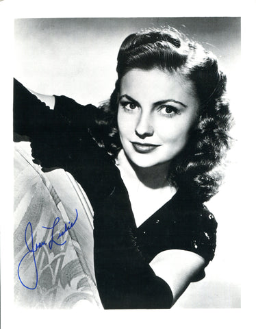 Joan Leslie Autographed 8x10 Photo