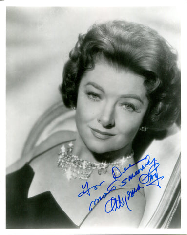Myrna Loy Autographed 8x10 Photo