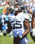 Jayon Brown Autographed Titans Celebration 8x10 Photo (PSA)