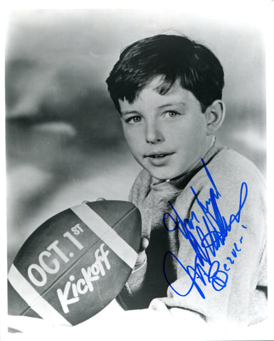 Jerry Mathers Autographed 8x10 Photo