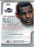 LeBron James 2003-04 Fleer Flair Class of '03 Rookie Card #94