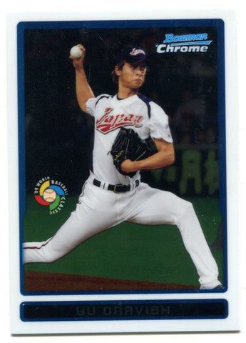 YU Darvish 2009 Bowman Chrome Rookie Card