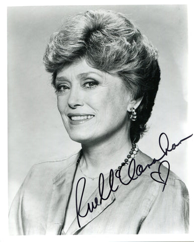 Rue McClanahan Autographed 8x10 Photo