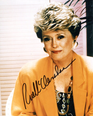 Rue McClanahan Autographed Color 8x10 Photo