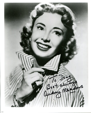 Audrey Meadows Autographed 8x10 Photo