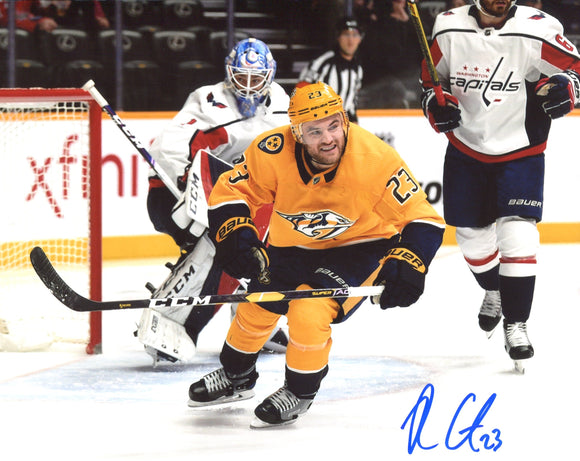 Rocco Grimaldi Autographed Predators 8x10 Photo