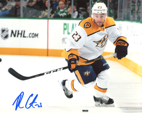Rocco Grimaldi Autographed 8x10 Photo Predators