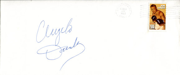 Angelo Dundee Autographed Envelope w/ Joe Louis Stamp