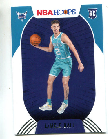 LaMelo Ball 2020-21 Panini NBA Hoops Rookie Card #223