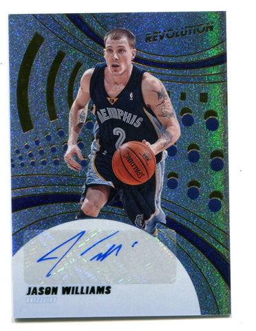 Jason Williams 2020-21 Panini Revolution #AGJWL  Autographed Card