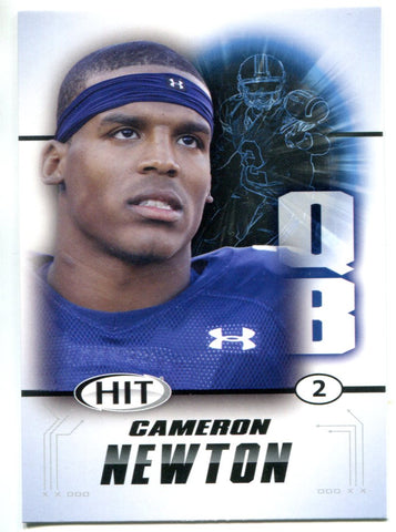 Cam Newton 2011 Sage Hit Rookie Card
