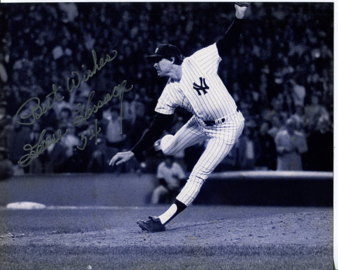 "Goose Gossage ""Best Wishes"" Autographed 8x10 Photo"