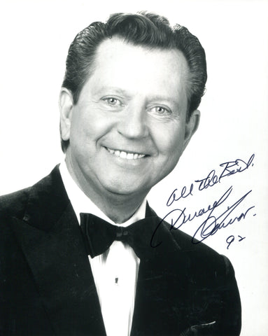 Donald O'Connor Autographed 8x10 Photo