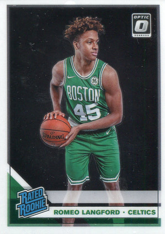 Romeo Langford 2019-20 Donruss Optic Rated Rookie Card