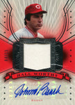 Johnny Bench 2005 Upper Deck Game Used & Autographed Card 04/15