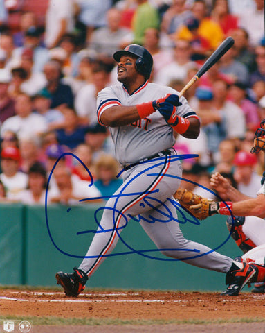 Cecil Fielder Autographed 8x10 Photo