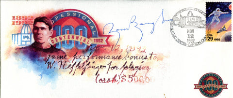 Sam Baugh Autographed Professional Football Centennial Envelope