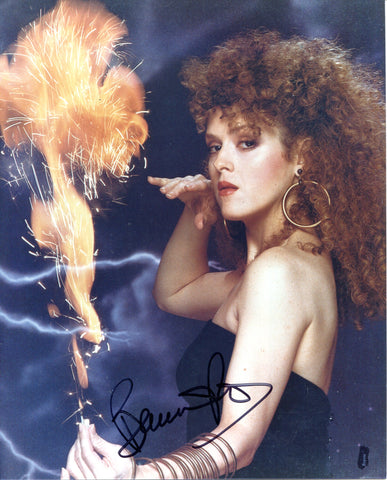 Bernadette Peters Autographed 8x10 Photo