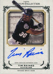 Tim Raines 2013 Topps Museum Collection Autographed Card