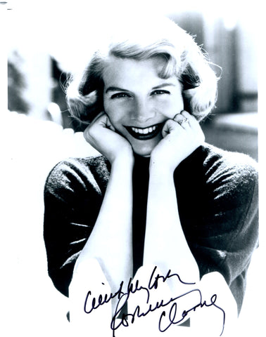 Rosemary Clooney Autographed 8x10 Photo