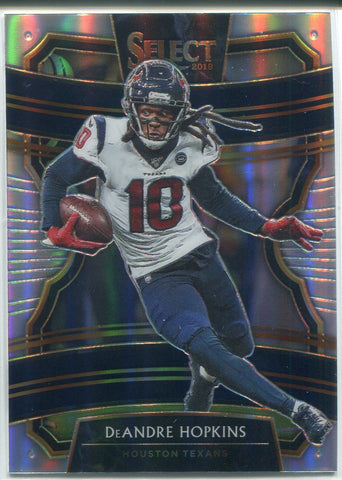 DeAndre Hopkins 2019 Panini Select Silver Prizm Concourse Card