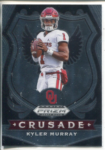 Kyler Murray 2020 Panini Prizm Draft Picks Crusade Card