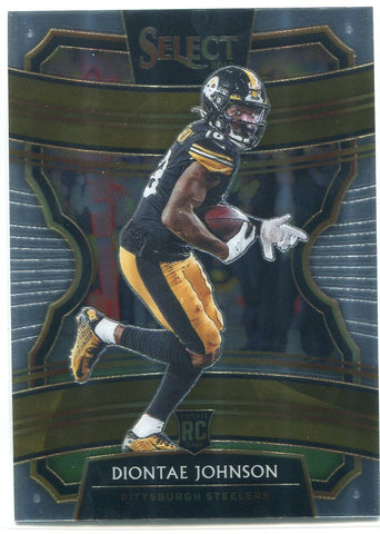 Diontae Johnson 2019 Panini Select Concourse Rookie Card