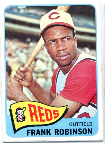 Frank Robinson 1965 Topps Unsigned Card