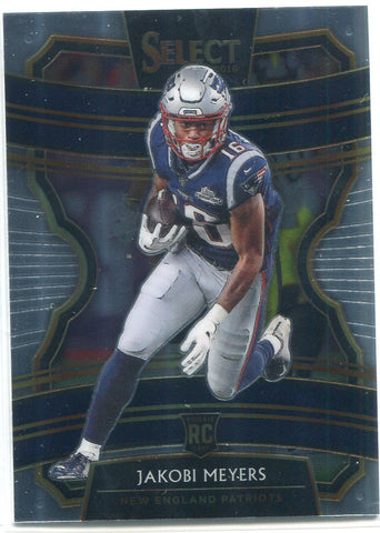 Jakobi Meyers 2019 Panini Select Concourse Rookie Card